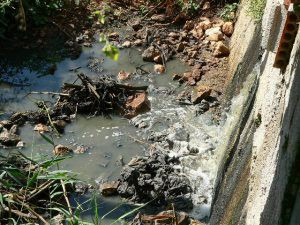 5 Vertido Sewage Spill from Treatment works 14th June 17